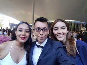 09072018 EN RECIENTE EVENTO.  Nelda Zapata, Pineda Damián y Mariane Isaa Martínez.