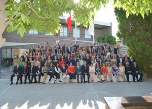 08072018 Ceremonia de graduación Ibero, Primavera 2018, No formamos a los mejores del mundo, sino que formamos a los mejores para el mundo. P. Adolfo Nicolás, S.J.