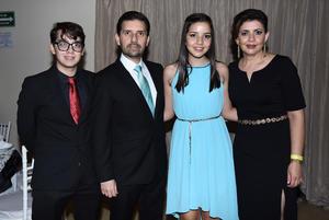 09072018 Daniel, Miguel, Andrea y Sandra.