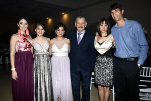 09072018 Gabriela Magaña, Alejandra Aguilar, Adriana Magaña, Rubén Aguilar, Karla López y Ulises González.