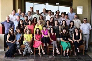 09072018 EN REENCUENTRO.  Ex Alumnos del Tec de Monterrey en amena reunión.