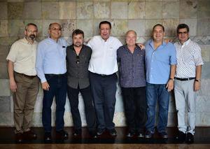 Hector  Harvey  Roberto  Costi  Fernando  Julian y Andres