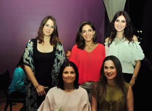 Patty, Mónica, Sory, Sonia y Ana