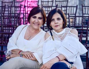 Dulce Pereda y Marcela Pámanes