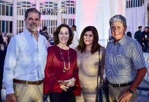 Mariel Curiel Norma de Curiel  Lorena de Saldana y Guillermo Saldana