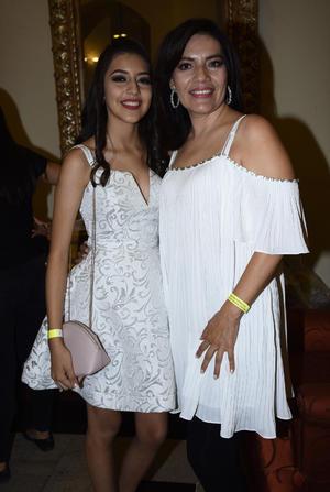 Diana Maribel Garza y Norma Guadalupe Saucedo