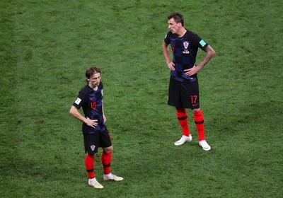 Croacia no quería llegar hasta los penales ante el gran esfuerzo físico de los partidos pasados.