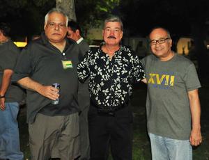 12072018 Héctor Jesús Romano, Gerardo Larrañaga y Juan Antonio Guajardo.