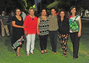 12072018 Verónica, Carmen, Margarita, Tony, Leidy y Afife.