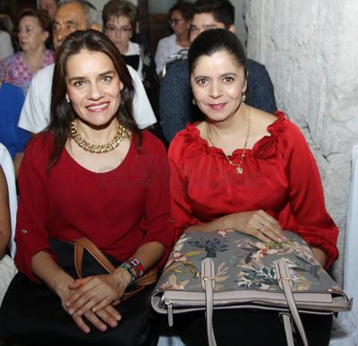Verónica Ávalos y Eréndida Seade.