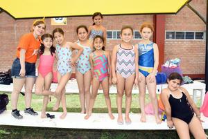 14072018 Daira, Viviana, Daniela, Aracely, Ximena, Bárbara, Alejandra, Marcela y Natalia.