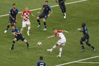 Ivan Perisic empató transitoriamente el partido con un golazo.