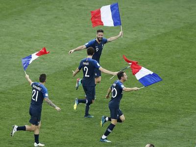 Francia festejó a lo grande su campeonato del mundo.