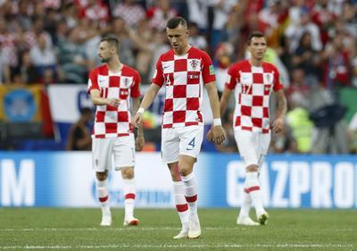 Los jugadores croatas no pudieron consumar el milagro.