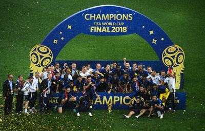 Francia se convierte en bicampeón de los Mundiales.