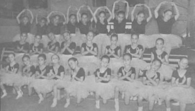 15072018 Grupo de Danza Clásica de la Escuela Emilio Carranza de Gómez Palacio, Durango, en 1990.