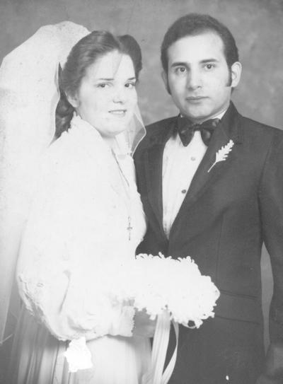 15072018 Sra. María Elena García Cervantes y Lic. Gerardo Alberto Garza Ramírez el 4 de agosto de 1983..
