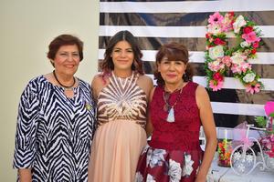 15072018 Martha Reyes, Yadira y su mamá, Blanca Vázquez.