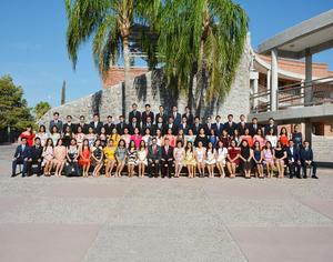 15072018 Alumnos de la Generación 2015-2018 que concluyeron sus estudios de Preparatoria en el Colegio Cervantes.
