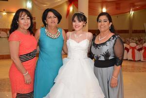 15072018 Socorro Arrañaga, Martha Arrañaga, Patricia Ortiz e Isabel Arrañaga.