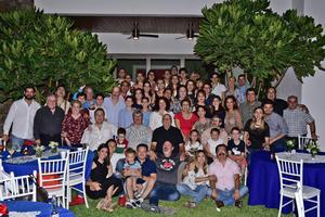 15072018 EN AMENA VELADA.  Bienvenida a la Familia Beltramelli Aguiñaga, procedentes de Francia.