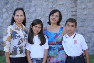 15072018 Adriana, Ana Laura, Laura Isabel y Andrés.
