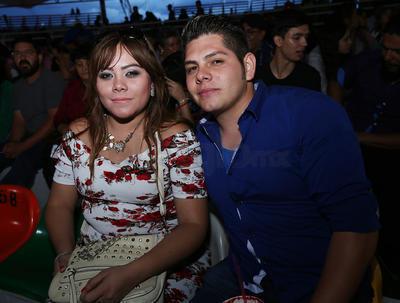 Sabrina y Alejandro.