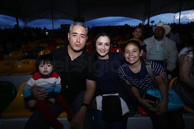 Familia Sáenz.