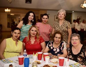 18072018 Gio, Paty, Martha, Silvia, Amelia, Ale y Malu.