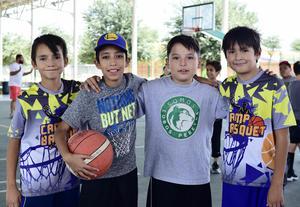 19072018 Gabriel, Erick, Ian y Emiliano.