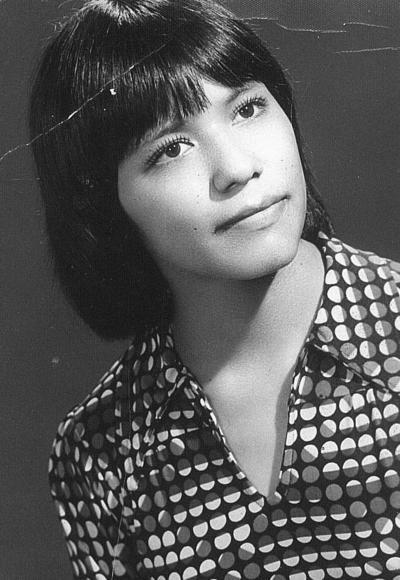 22072018 Beatriz Trujillo, hace varias décadas.