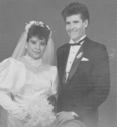 22072018 Sra. Lorena Santos Herrera y Sr. Juan Burciaga, el 22 de julio de 1989.