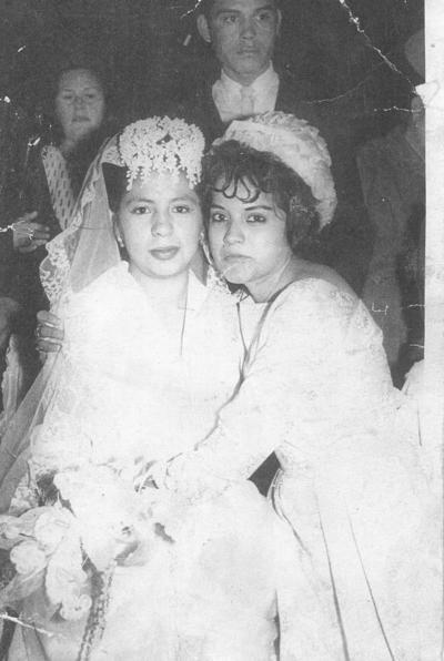 22072018 Sra. Conchita Ramírez y su dama, la Sra. Ma. Elena Rocha (f) en 1965.