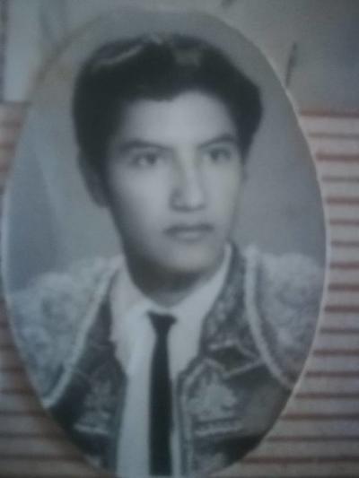 """22072018 Carlos Torres fue un novillero que indultó al toro llamado """"Relojito"""" en el Lienzo Charro de Gómez Palacio, Durango. Falleció hace casi 30 años."""