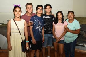 23072018 Lupita, Bryan, Arath, Vivian, Alberto y Bárbara.
