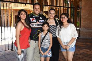 23072018 Jorge, Mafer, Cathy, Victoria y Argelia.