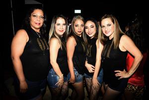 23072018 Bety, Gaby, Mónica, Dorita y Polet.