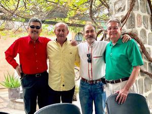 23072018 CUMPLE 6 AñOS.  Iker con su abuelito, Felipe García Martínez.