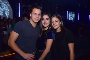 David  Paulina y Fernanda