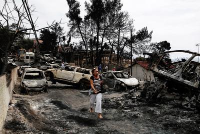 Las imágenes de la tragedia en Grecia.