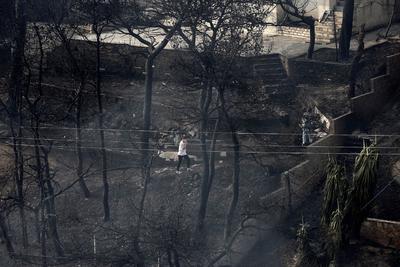 Tragedia en Grecia por voraces incendios