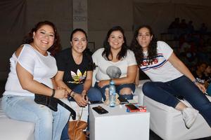 24072018 Cynthia, Elsa, Diana y Ana Rebeca.
