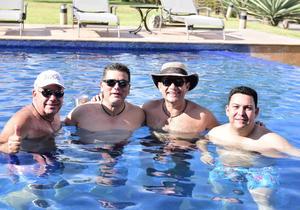 Jaime  Pablo  Hector y Daniel