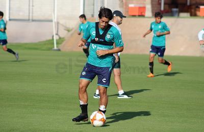 José Abella compareció ante los medios de comunicación para externar su satisfacción al ser nombrado capitán del equipo.