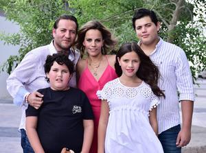 25072018 PabloTrujillo, Ana Paula Ibarra, Paulina, Patricio y Pablo Trujillo.