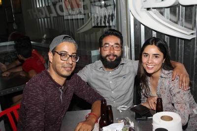 Javier, David y Sinaí.