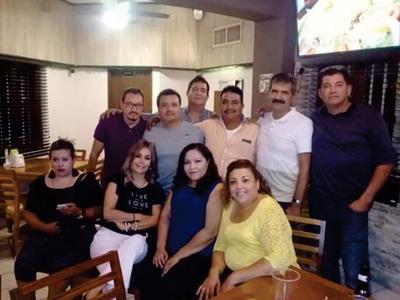26072018 Elizabeth, Miguel, Manolo, David, Óscar, Oswaldo, Antonio, Peggy, Hilda y Liliana.