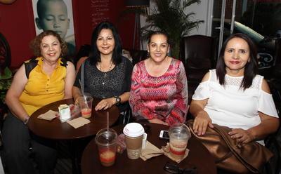 Mariana, Linda, Celina y Eva.