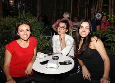 Sofía, Daniela y Judith.