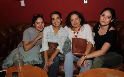 Verónica, Jessica,Vero y Mariana.
